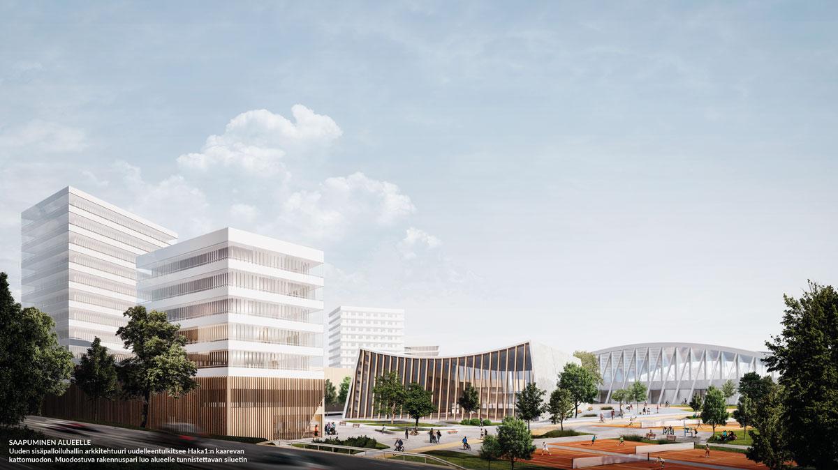 Hakametsä Sport Campus – Well City